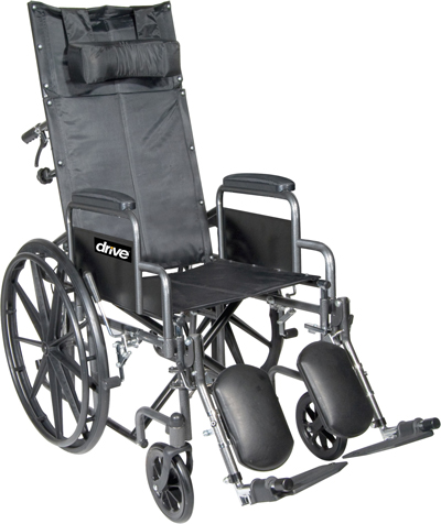 Wheelchair | Reclining Manual Wheelchair | Drive Silver Sport | Medical Equipment & Supplies | Home Health Depot | Service & Repair | Delivery | Los Angeles, South Bay, Long Beach, Lomita, Carson, Torrance, San Pedro, Palos Verdes, Monica