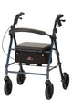 Nova Vibe 8 Rolling Walker / Rollator with Seat & Brakes