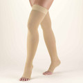20-30 Thigh High - Open Toe - Compression Stockings