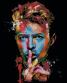 David Bowie Abstract