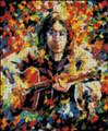 John Lennon Abstract