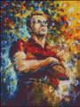 James Dean II Abstract