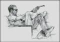 Steve McQueen Colt 45