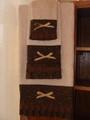 Chocolate Truffle Collection- Cream Hand Towel