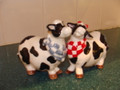 Barn Yard Kissing Cows Salt and Pepper Shaker