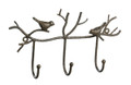 Bird and Twig Metal Hanger