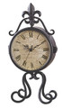 Metal Mantel Clock