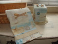 Seaside Bath Collection-Set of 3 Decorated Towles