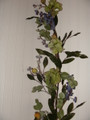 Hydrangea and Blue Flower Vine