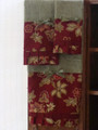 Classy Garden Collection Set of 3 Decorated Towels