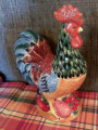 French Country Rooster Cookie Jar