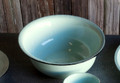 Enamel Basin in Robin Egg Blue Color