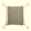 """18""""Square Cotton Blend Pillow"""