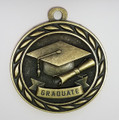 """Graduate"" Medal with Neck Ribbon"