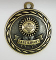 """""""Participant"""" Medal with Neck Ribbon"""