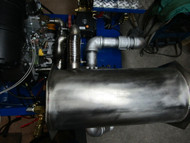 Axis Point Heat Exchanger  (H-STYLE SIDE 1.5 inch inlet) and S/S Header