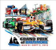 2012 Grand Prix of Baltimore Collector Giclee