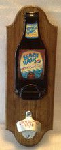 Beach Haus Beer Opener Plaque