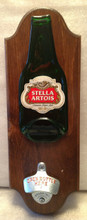 Stella Beer Opener Plaque