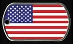 *AMERICAN FLAG* Dog Tag