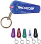 Lighted Whistle Key Chain