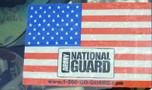 American Flag Static Window Cling