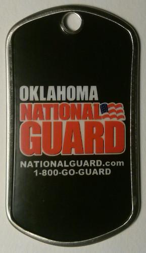 Arng State Logo Dog Tag National Guard Recruiter
