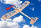 Airplane Balsa Wood Motorized 50