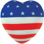 American Flag Heart Stress Reliever