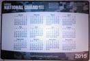 2018 Camouflage Calendar Counter Mat