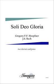 Soli Deo Gloria ( 2 Clarinet)