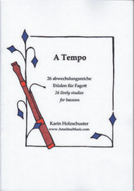 A Tempo: 26 Lively Studies for Bassoon