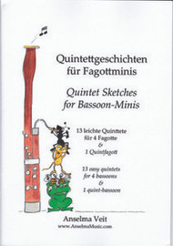 Quintet Sketches for Bassoon-Minis