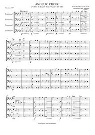 "ANGELIC CHOIR FROM ""FAUST,"" D. 440 (trombone quartet) (download)"