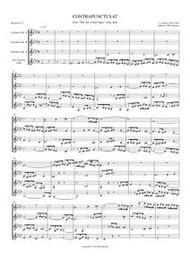 CONTRAPUNCTUS I: ART OF THE FUGUE (clarinet quartet)