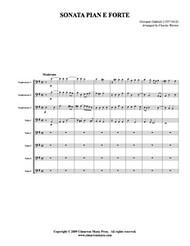 Sonata Pian e Forte (Tuba Ensemble) (Download)
