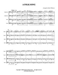 Folk Song, A (Download)