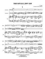 Adagio and Allegro from Trio Sonata, BWV 1039 (Download)