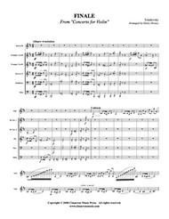 Finale from Violin Concerto (Download)