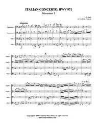 Italian Concerto - BWV 971, Mvt. 1 (Download)