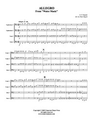 Allegro from Water Music (Download)
