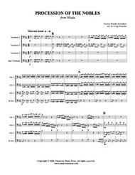Procession of the Nobles (trombone quartet) (download)