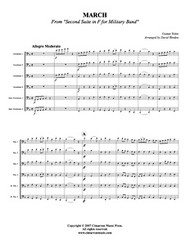 March from Military Suite in F (Trombone Choir) (Download)