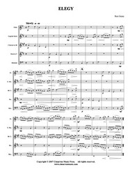 Elegy (Woodwind Quintet) (Download)