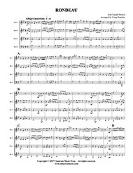 Rondeau (Horn Quartet) (Download)