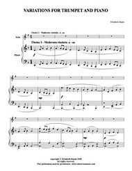 Variations (Trumpet Solo) (Download)