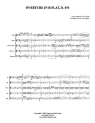 Overture in B-flat, D. 470 (Download)