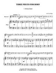 Three Pieces for Horn (Download)