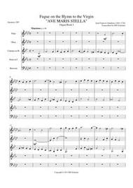 AVE MARIS STELLA (woodwind quintet) (download)