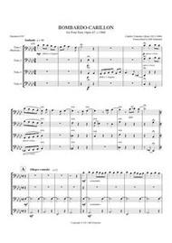 BOMBARDO - CARILLON (tuba quartet)